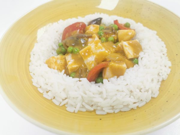 Skinny Low Fat Chicken Curry
